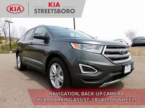Pre-Owned 2017 Ford Edge SEL AWD 4D Sport Utility