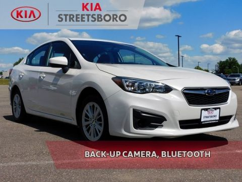 Pre-Owned 2017 Subaru Impreza 2.0i Premium AWD 4D Sedan