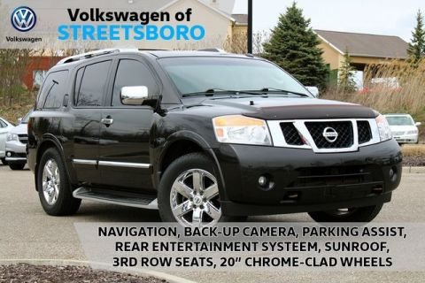 Pre-Owned 2011 Nissan Armada Platinum 4WD 4D Sport Utility