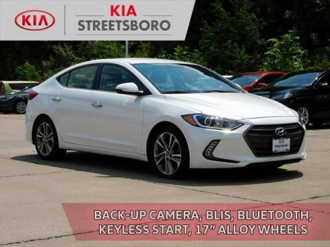 Pre-Owned 2017 Hyundai Elantra Limited FWD 4D Sedan