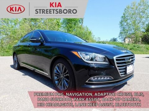 Pre-Owned 2017 Genesis G80 3.8 AWD 4D Sedan