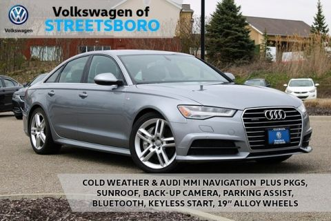 Pre-Owned 2017 Audi A6 2.0T Premium quattro 4D Sedan