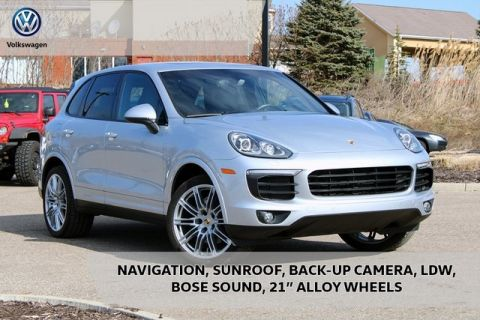 Pre-Owned 2018 Porsche Cayenne Platinum Edition AWD 4D Sport Utility
